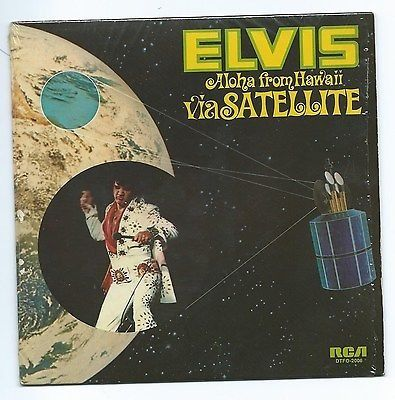 Elvis Presley - Aloha From Hawaii via Satellite - 7″-Single - 1973/1973