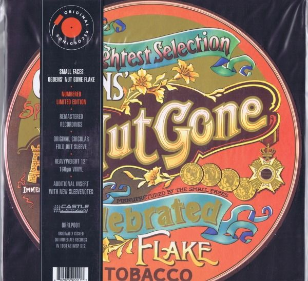 Small Faces - Ogdens' Nut Gone Flake (Psychedelic Rock) - LP Album - 1968/1968
