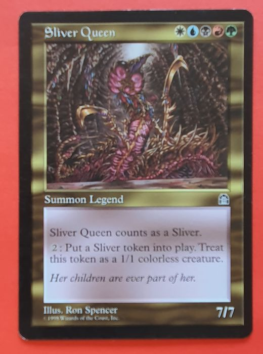 Magic the gathering - Trading card Sliver Queen uit Stronghold - 1998