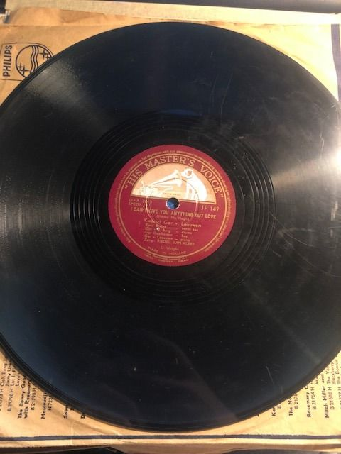 Malcolm Vaughan, Harry Roy, Connie Haines, The McGuire Sisters and more - 78 Rpm - 78 tours/min - Gomme laque