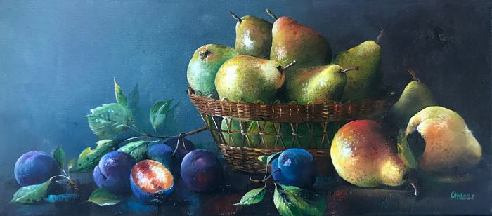 Alexander Nakonechny (1971) - Pears and plums