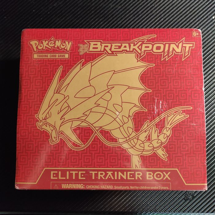 Nintendo - Pokémon, Breakpoint xy - Doos Xy Breakpoint elite trainer box out of print - 2016