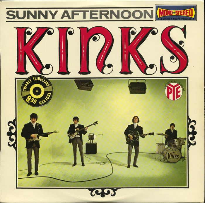 "The Kinks - ""Sunny Afternoon"" - LP Album - 1967"