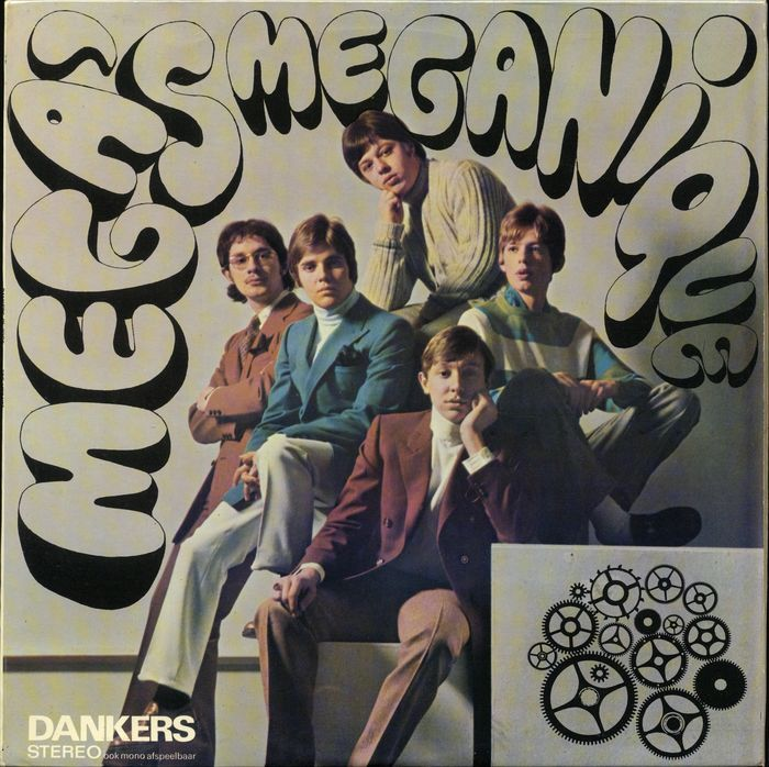 "De Megas - ""Meganique"" [Dutch Beat LP rare release by Dankers - Dutch First Press ] - LP Album - 1968"