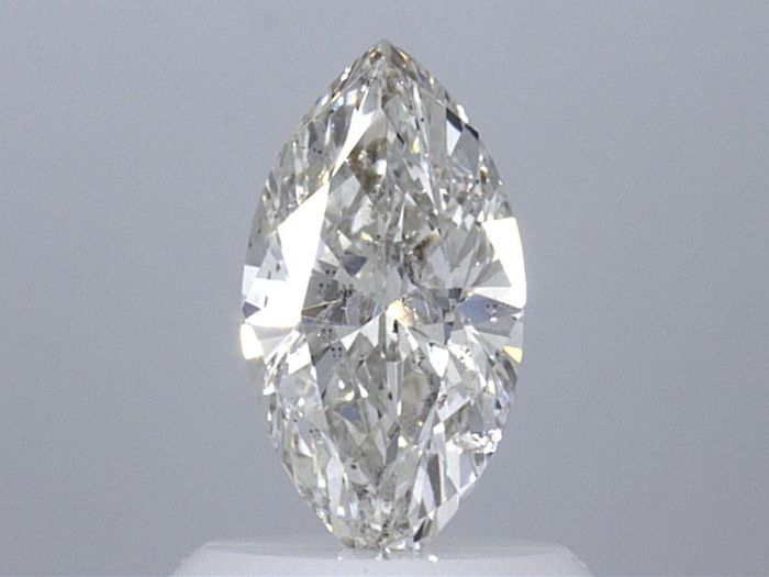 1 pcs Diamante - 0.71 ct - Marquesita - I - I1  VG  GIA Certified * No Reserve Price *