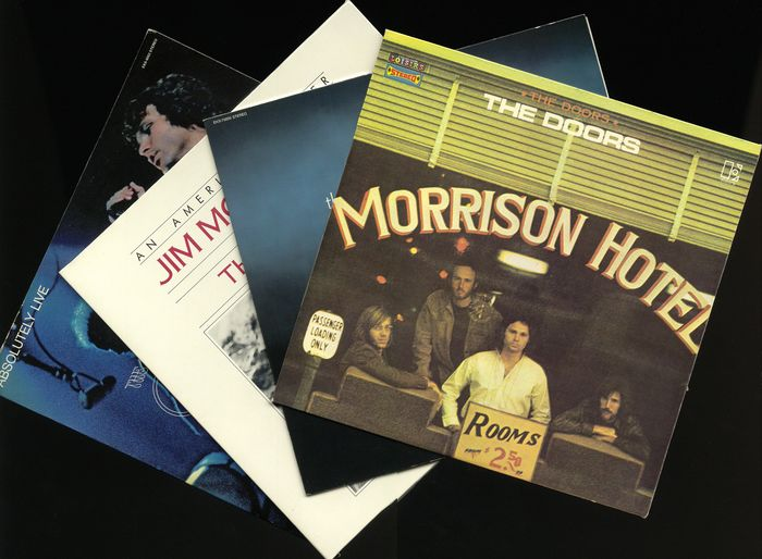 The Doors and Jim Morrison - Diverse Titel - LP's - 1969/1978