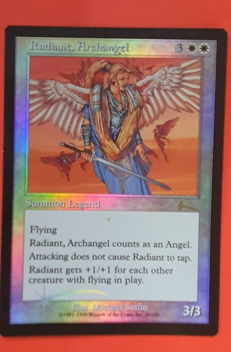 Magic the Gathering - Trading card Radiant, Archangel (foil)  uit Urza's Legacy - 1999