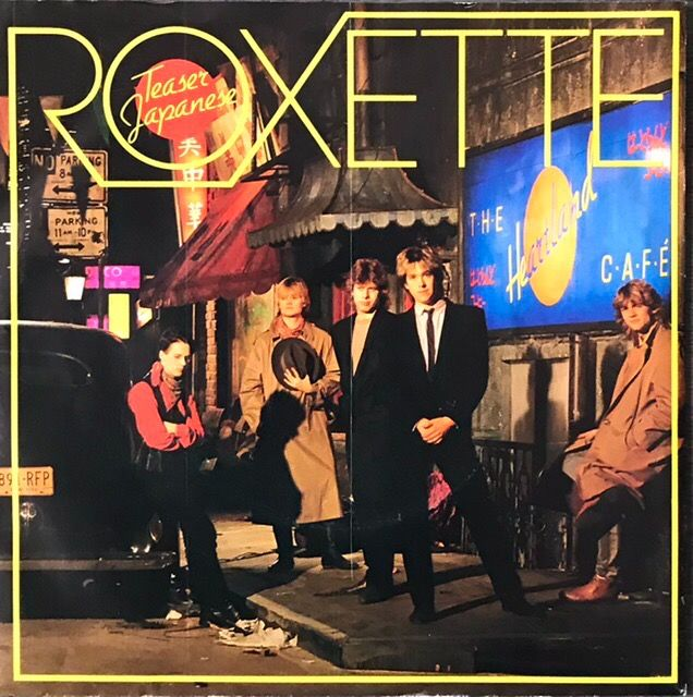 Roxette - Teaser/ Young Girl [Japanese Pressing] - 45-toerenplaat (Single) - 1984