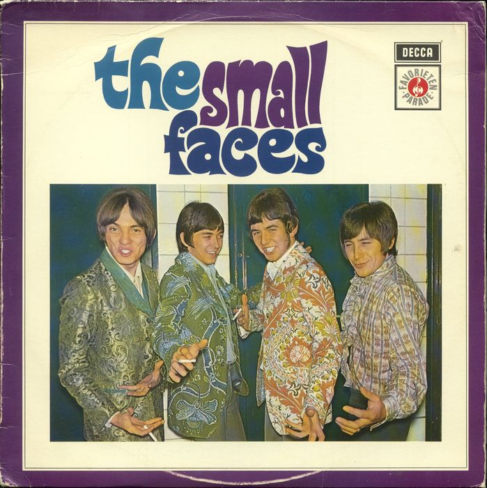 "Small Faces - ""The Small Faces"" Dutch only sleeve Decca release - LP Album - 1966/1966"