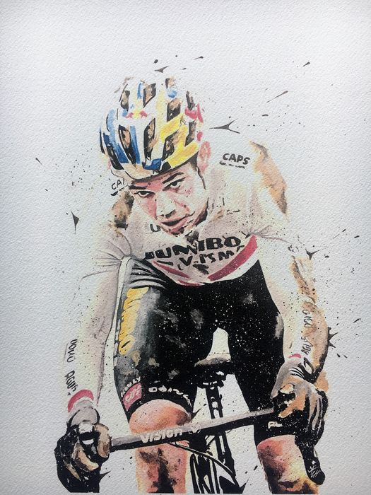 Jumbo Visma - Cycling - Wout van Aert - Artwork