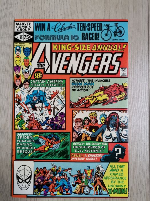 Avengers Annual 10 - 1st appearance of Rogue and Madelyn Pryor! Key issue in high grade! - EO - (1981)