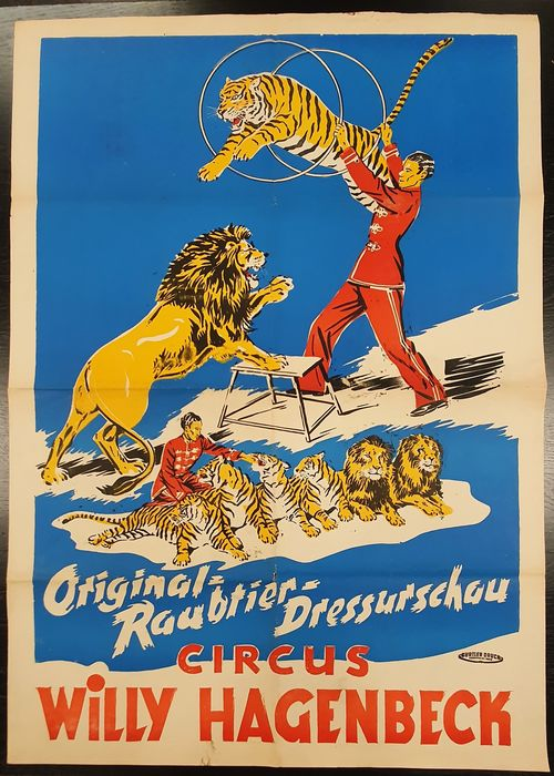 Onbekend - Circus Willy Hagenbeck - 1962