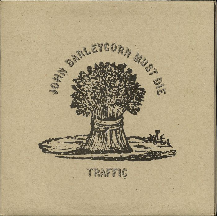 "Traffic - ""John Barleycorn must die [1st UK Pressing] - LP Album - 1970"