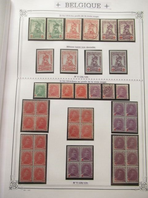 Belgien 1849/2001 - An important collection of stamps