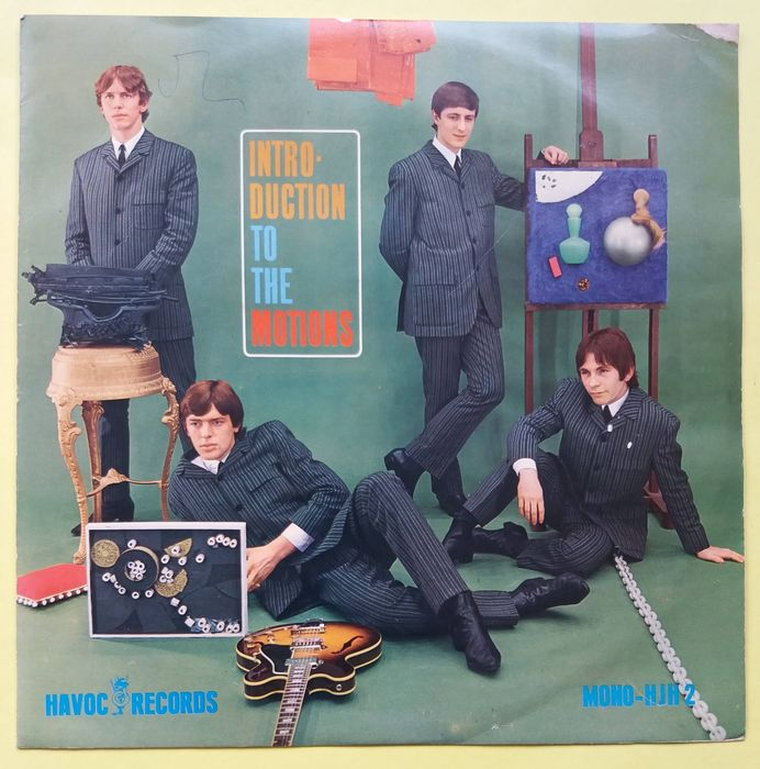 The Motions - Introduction to the Motions - LP's - 1965/1965