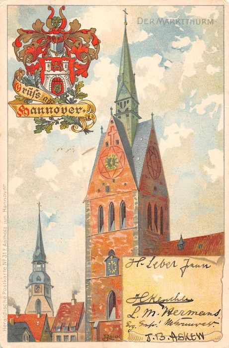 Germany (varied lot) - Postcards (180) - 1905