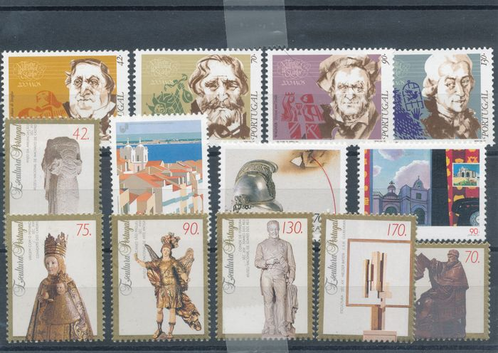 Portugal 1990/1999 - Year sets without the blocks, in bulk - Michel