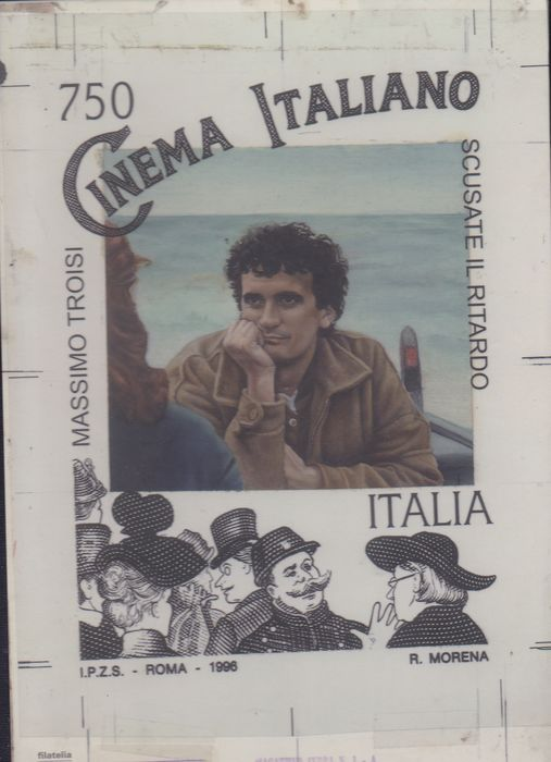 Italië Republiek 2019 - The very rare Troisi Folder, only 350 copies