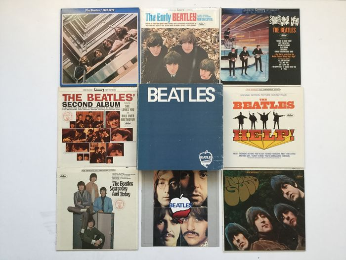 Beatles - Rare FRC box - Made in US for Japan Market - 7 x LP Albums - Multiple titles - LP Boxset - 1973/1973