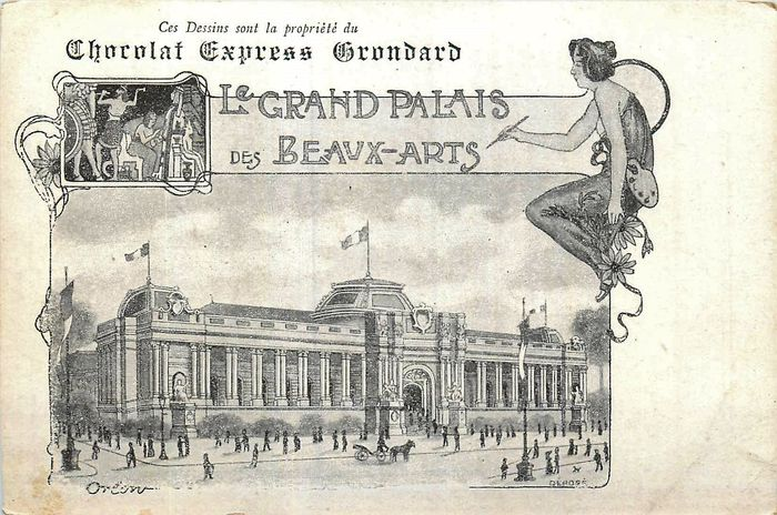 France - Expo 1900 - New Arts - Illustrator Orlow - Postcards (Group of 12) - 1900