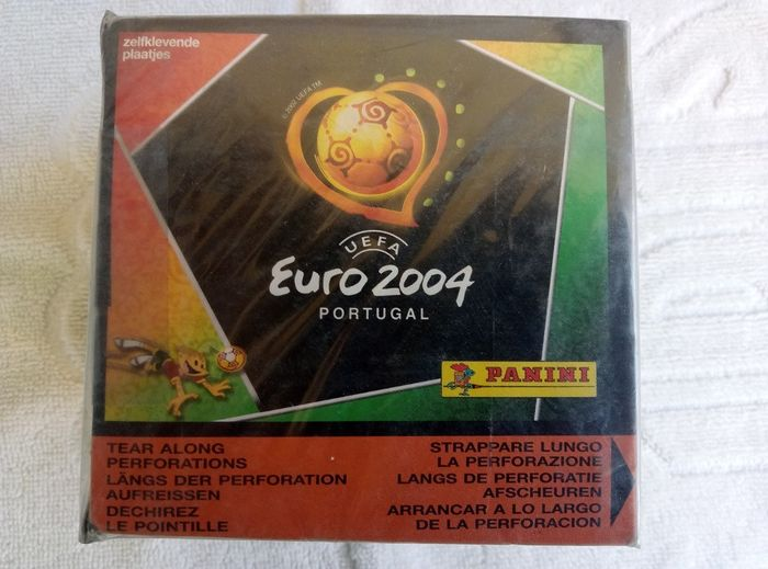 Panini - Euro 2004 Portugal - Original sealed box 50 packs