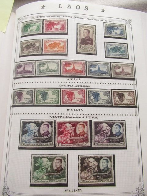 Laos und Kambodscha - Collection of modern stamps.
