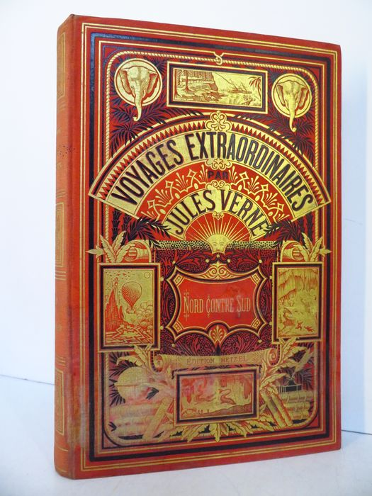 Jules Verne - Nord contre Sud. Voyages Extraordinaires - 1887