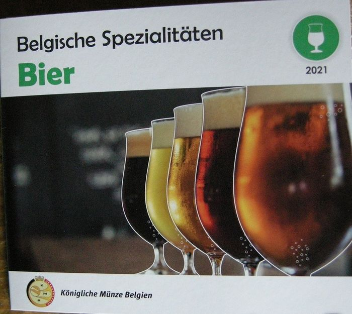 Belgique. World Money Fair set BIER 2021 - Oplage slechts 500 sets