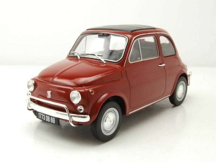 Norev - 1:18 - Fiat 500L 1968 - Color red