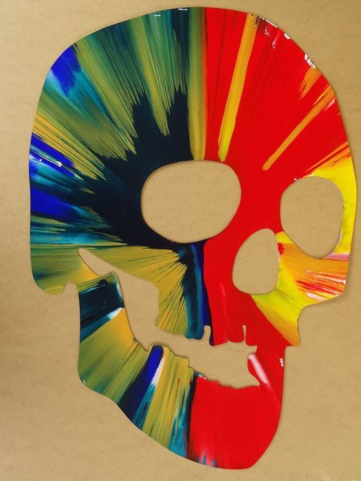 Damien Hirst (1965) (after) - Spin painting