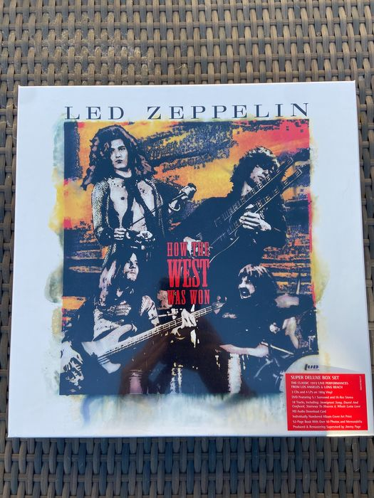 Led Zeppelin - How The West Was Won [Super Deluxe 180g 4LP, 3CD, 1DVD Box Set] - Limited box set - 2018