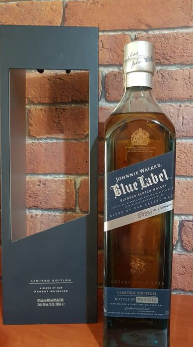 Johnnie Walker Blue Label - Porsch Studio Design Limited Edition - 700ml