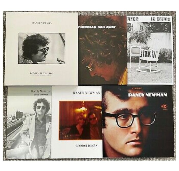 Randy Newman - Randy Newman - Lonely At The Top: The Studio Albums, 1968-77 Limited Box Set - Multiple titles - Limited box set - 2017/2017