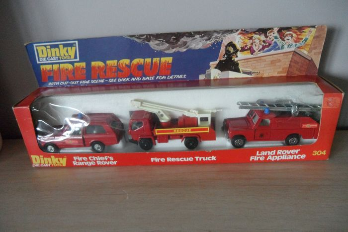 Dinky Toys - 1:43 - 304 Fire Rescue