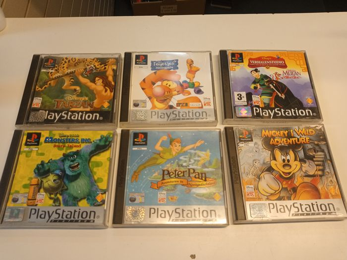 Sony Playstation 1 - Great Collectible Disney Games - Videogames (6) - In originele verpakking - Videogames (6) - In originele verpakking