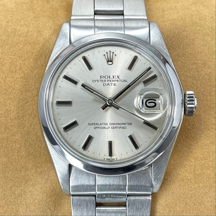 Rolex - Oyster Perpetual Date - 1500 - Unisex - 1974