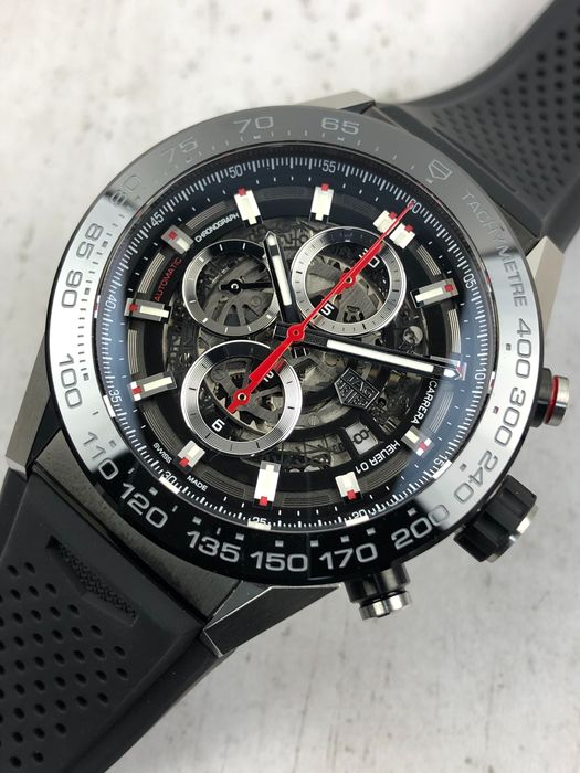 TAG Heuer - Carrera Calibre Heuer 01 Skeleton Chronograpgh Automatic - CAR2A1Z.FT6044 - Homme - 2021
