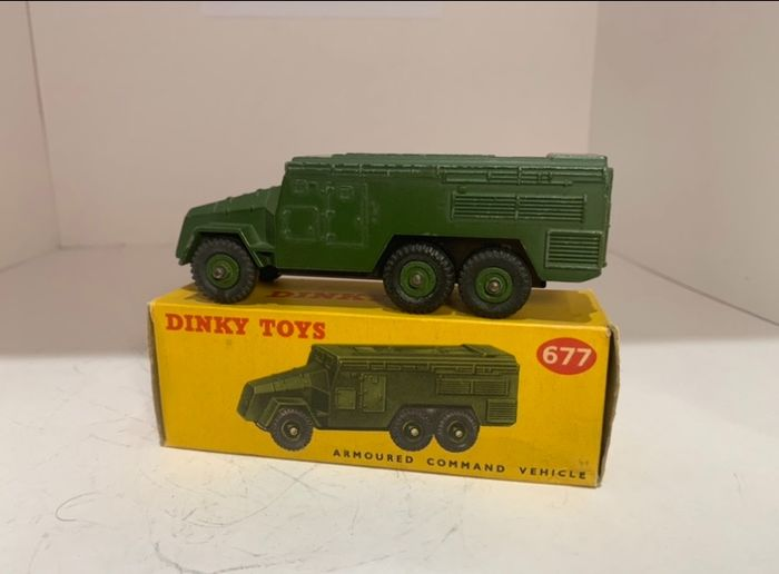 Dinky Toys - 1:48 - Dinky Toys No: 677 - Armored command vehicle