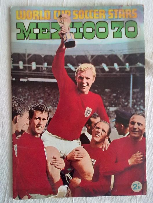Variante Panini - World Cup Mexico 70 - Complete album - 1970