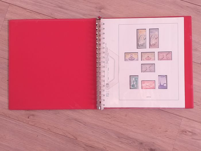 Syria 1957/1968 - Collection in a Lindner Hingeless Album with case