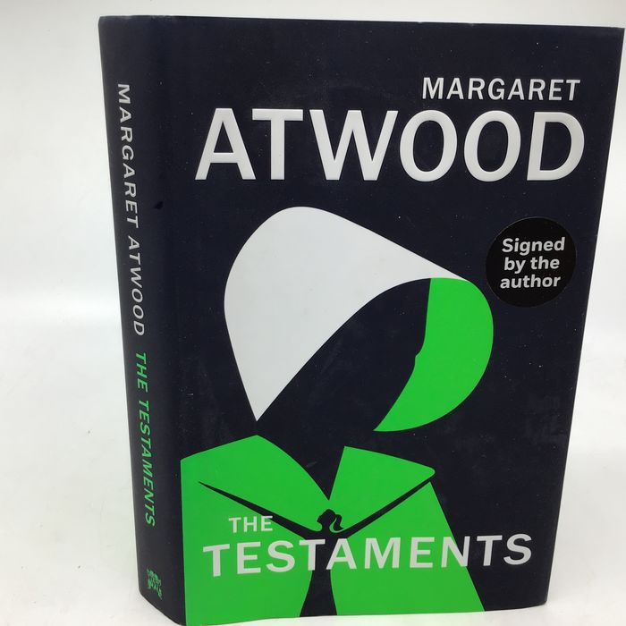 Margaret Atwood - The Testaments (signed by author) - 2019