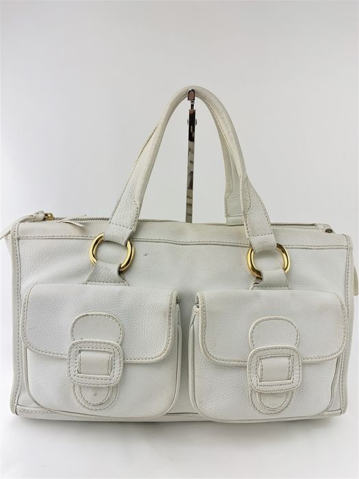 Céline - White Leather - Sac à main