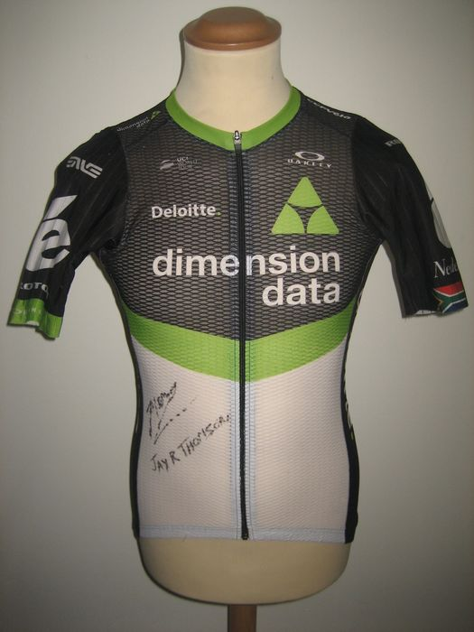 Team Dimension Data - Cycling - Jay Robert Thomson - 2017 - Jersey