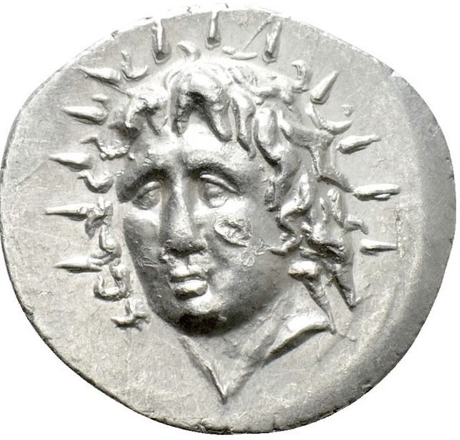 Islands off Caria, Rhodes. AR Drachm,  Circa 88/42 BC-AD 14. Philiskos, magistrate