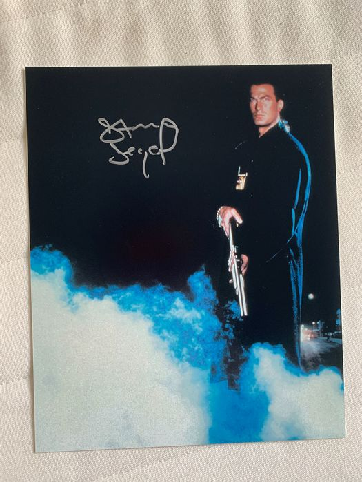 Steven Seagal - Foto, Handtekening, Signed in person, Weekend of Hell Convention 11/2018 - Dortmund Germany