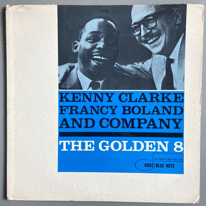 Kenny Clarke - Francy Boland and Company - The Golden 8 - LP Album - 1961/1961