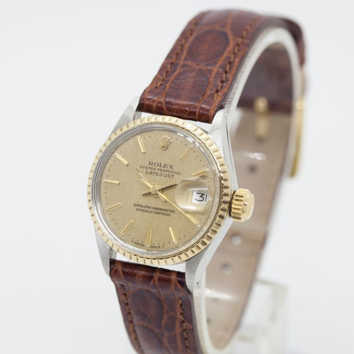 Rolex - Oyster Perpetual DateJust - 6517 - Mujer - 1970-1979