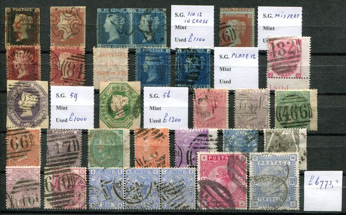 Great Britain 1840/1884 - Victoria collection - Stanley Gibbons