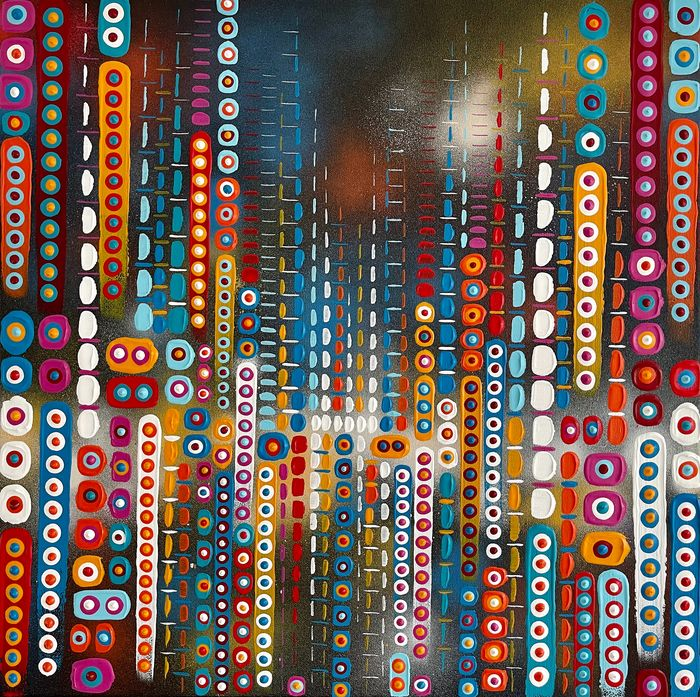 Mario Pasetto (1975) - Beautiful City - Imaginative