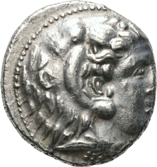 Ptolemaic Kingdom. Ptolemy I Soter (303-282 BC). AR Tetradrachm,  in the name and types of Alexander III of Macedon. Struck circa 320/19-315 BC. Arados